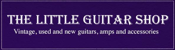 The Little Guitar Shop Business Logo